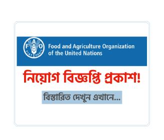 FAO Job Circular 2021