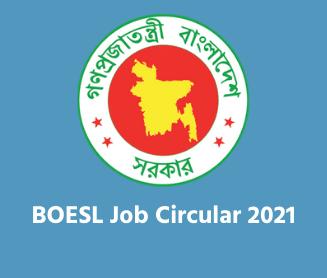 BOESL Job Circular 2021