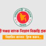 Palli Sanchay Bank Job Circular 2021